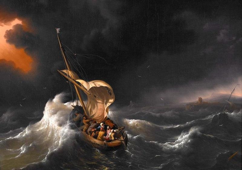 Resultado de imagem para Nas tempestades da vida... Tenha esperanças