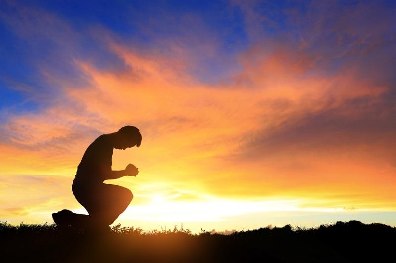 Pray and worship